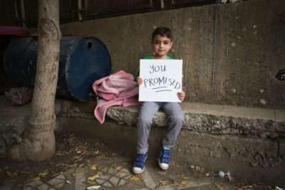 You Promised: world leaders at UN must act now to get Syrian children in school