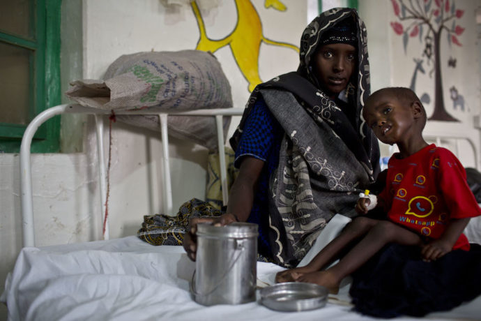 """""""The situation for Somali children is getting worse because of droughts, famine, malnutrition, conflict, lack of access to healthcare and illiteracy"""""""