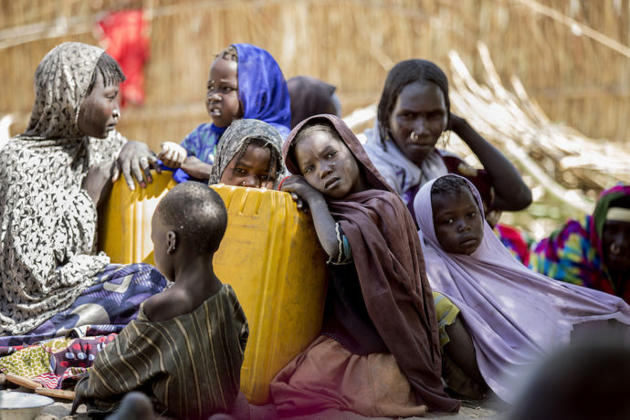 Child victims of the 'forgotten crisis' that threatens millions in Lake Chad region