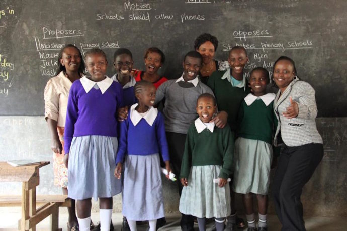 Changed attitudes of East African boys is helping girls to stay in school