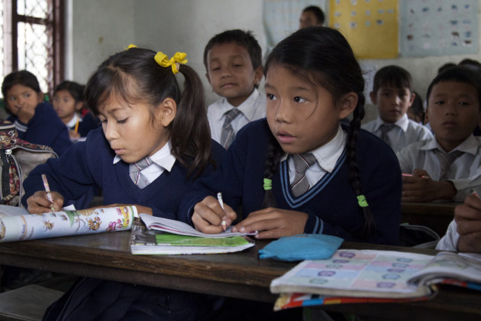 Still recovering from the 2015 earthquake, now Nepal's children are hit by floods