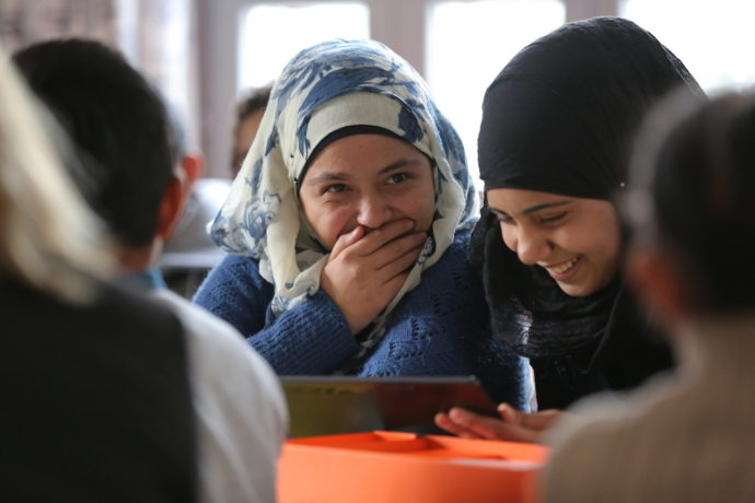 """""""We have to give hope to Syrian refugee children - because the future is theirs and not ours"""""""