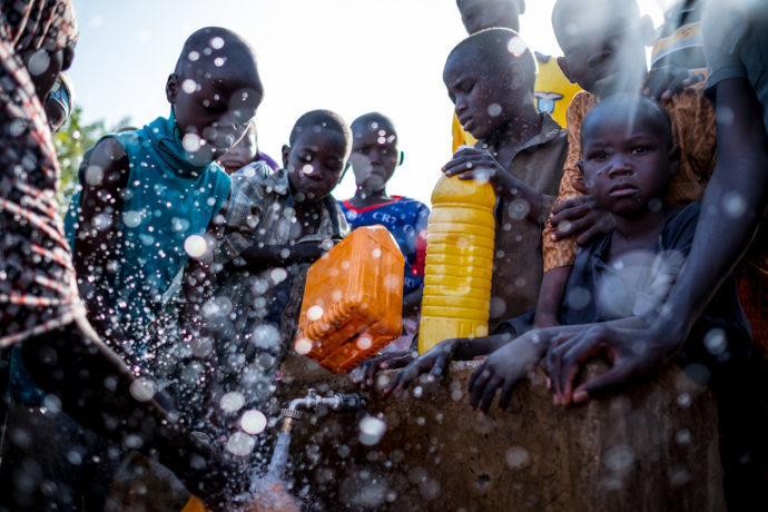 Millions of children at risk in world's unsafe water crisis