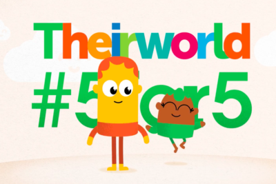 Join the #5for5 campaign and help every child to get the best start in life