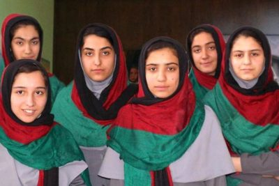 Afghan girls show their skills at global robotics contest