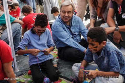 What does new UN Secretary-General Antonio Guterres need to deliver for children?