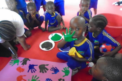 Play Labs help young children in Tanzania to learn while having lots of fun