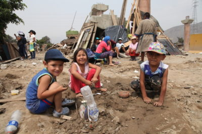 Peru flooding damage leaves two million children out of school