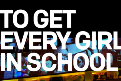 Campaigners and celebrities back call to get 130 million girls in school