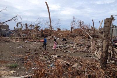 Traumatised schoolchildren and teachers in Haiti struggle to overcome the destruction of Hurricane Matthew