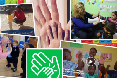 Celebrities and supporters share High Fives to back our #5for5 campaign