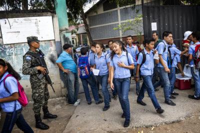 Gang wars mean school can be a battleground in Honduras