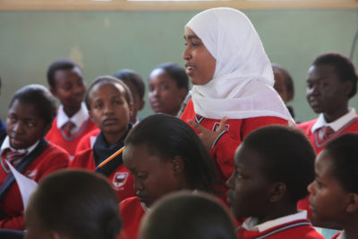 More girls stay in school as drought-hit Kenyan herders invest in education