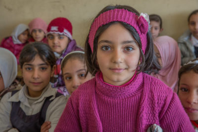 Children go back to school in parts of Mosul recaptured from Islamic State