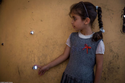 60,000 children back at school in west Mosul but others are traumatised and hiding