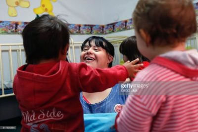 Teacher with Down's syndrome inspires children, parents and colleagues