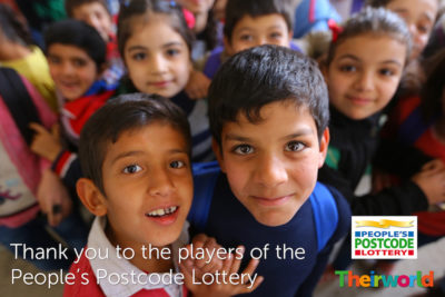 People's Postcode Lottery awards £505,000 to Theirworld to continue the fight for global education
