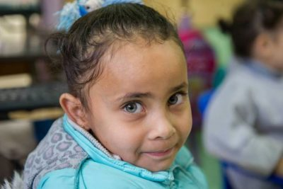 Helping to build a brighter future for Palestinian preschoolers