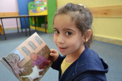 See the world through a child's eyes ... with Palestinian preschool children