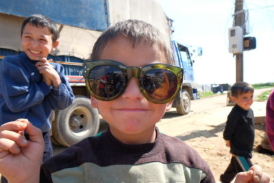 Smiles and hope: faces of Syrian refugee children who just want to be in school