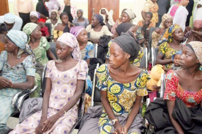 82 abducted Chibok schoolgirls are freed by Boko Haram in Nigeria