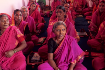 School for grandmothers: Indian women aged 60 to 90 get lessons for the first time