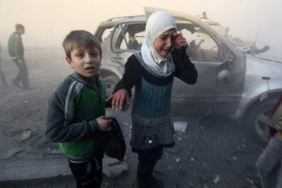 Toxic stress spells disaster for many children in Syria and other conflict countries