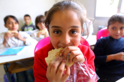 """It's really important for us to see Syrian children having a chance to be in school and learning"""