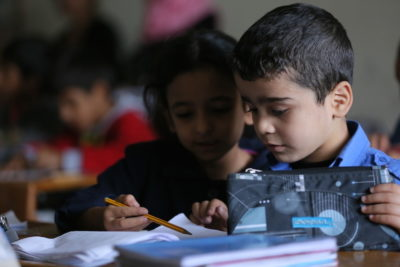 #YouPromised: campaigners won't stop until every Syrian refugee child is in school