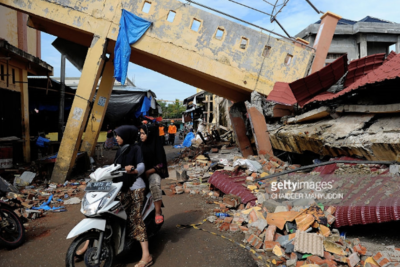 Earthquake damage leaves 30,000 children out of school in Indonesia