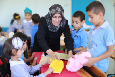 UNRWA delivers education to 53,000 Palestinian refugees from Syria