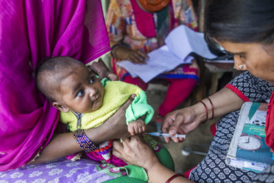 Vaccines help millions of children to grow healthy and fulfil their potential
