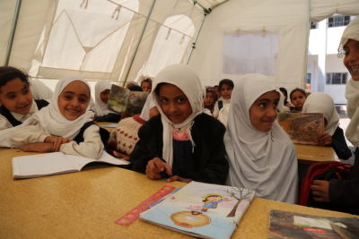 'World is failing to help' Yemen's war-scarred children back into school