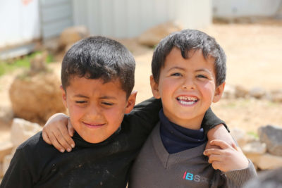 Five years on: life for Syrian children in Zaatari refugee camp