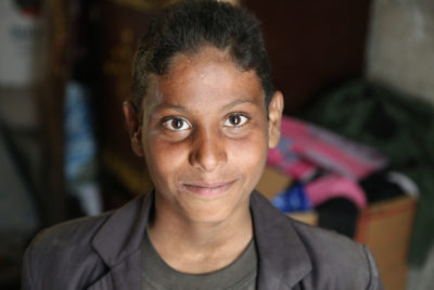 Zuhair, 13, scarred by Yemen war that has robbed two million children of education