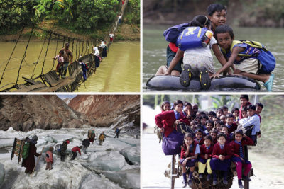 13 unusual and dangerous journeys to school