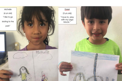 See the world through a child's eyes ... Mexican preschool children share their drawings