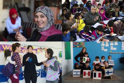 In pictures: how school teachers inspire children around the world