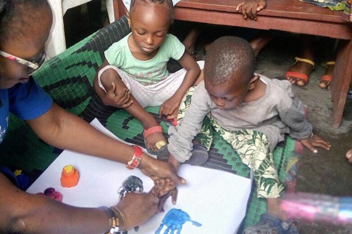 """""""Creative Learning In The Slum uses the beauty of art to engage the minds of children"""""""