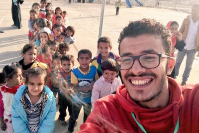 """I worked as a volunteer in a child-friendly space for children affected by conflict in Yemen"""