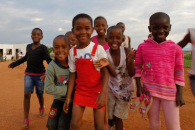 """They are trekking through rural southern Africa to raise awareness about early childhood development"""
