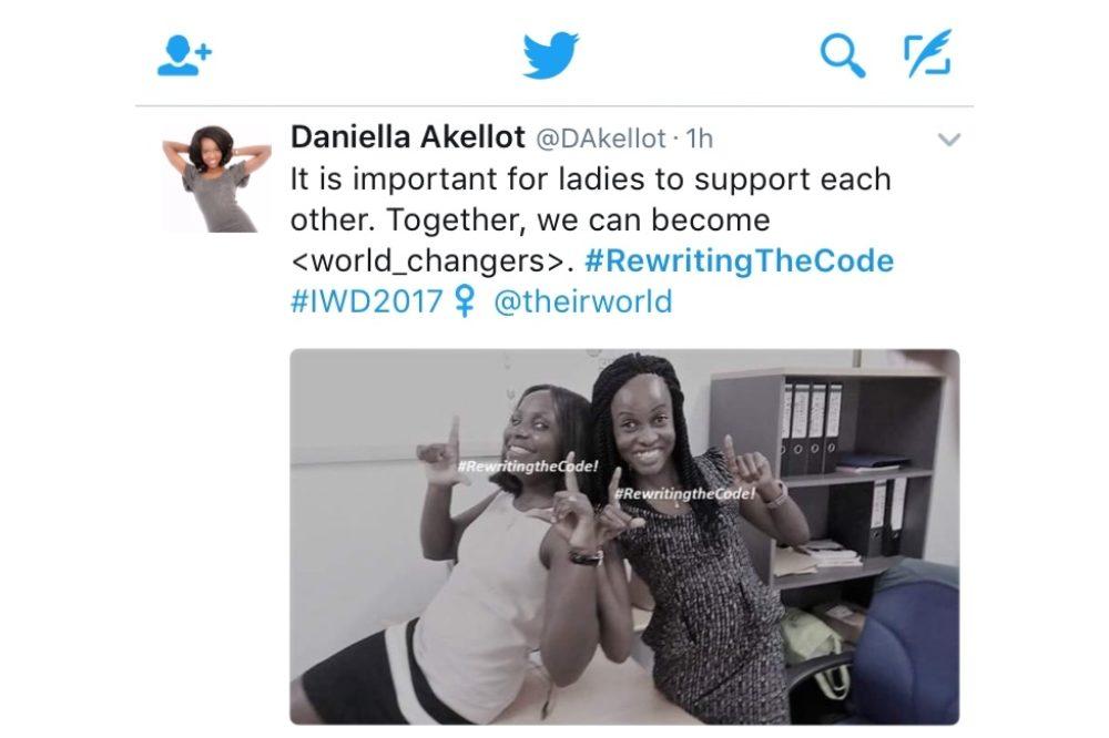 #RewritingTheCode