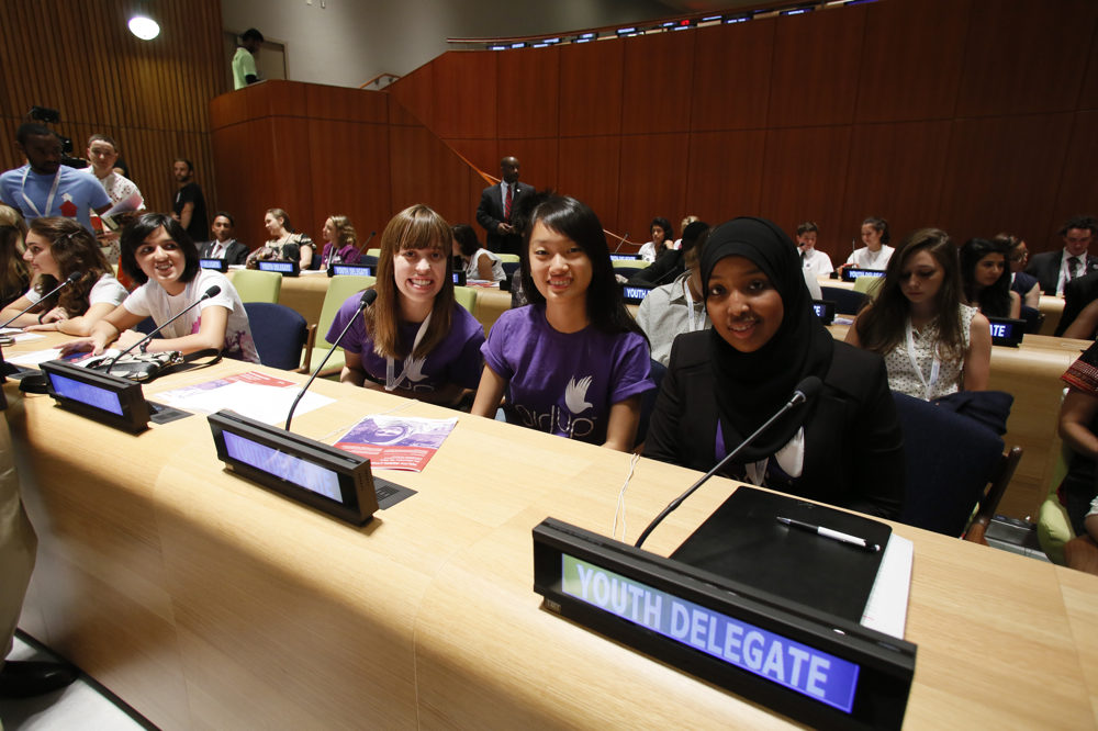 Malala Yousafzai's speech at the Youth Takeover of the