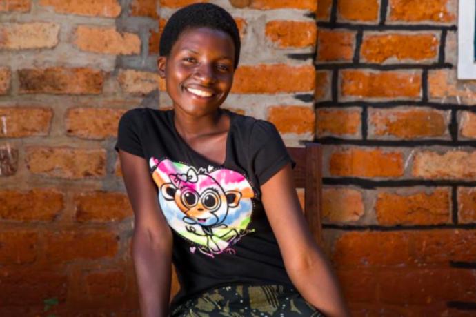 Refugee children from Burundi's civil war are so happy to be in school