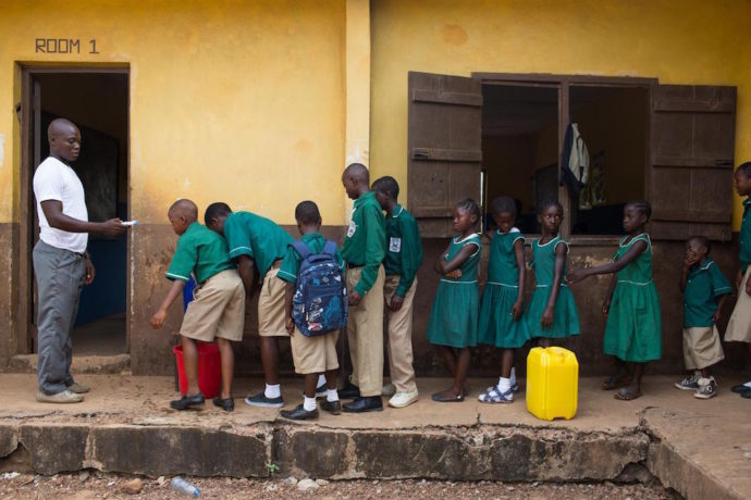 """""""Coronavirus is amplifying the struggles that children are already facing to receive a quality education"""""""