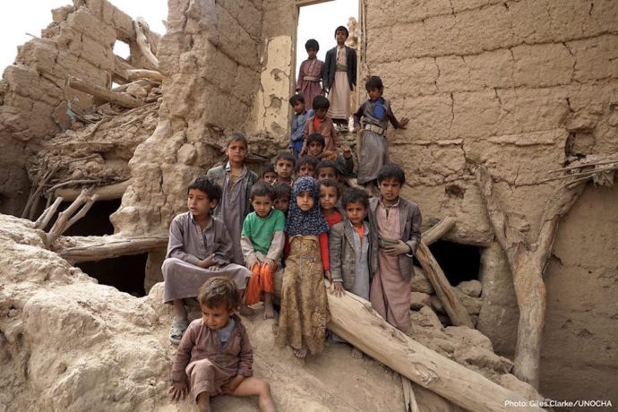"""""""Yemen war has destroyed schools and forced teachers to work without pay for years"""""""