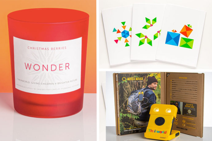 Give the gift of hope to vulnerable children with these Theirworld Christmas presents
