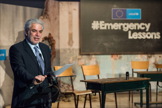 Breakthrough moment as EU increases education's share of humanitarian aid to 10%