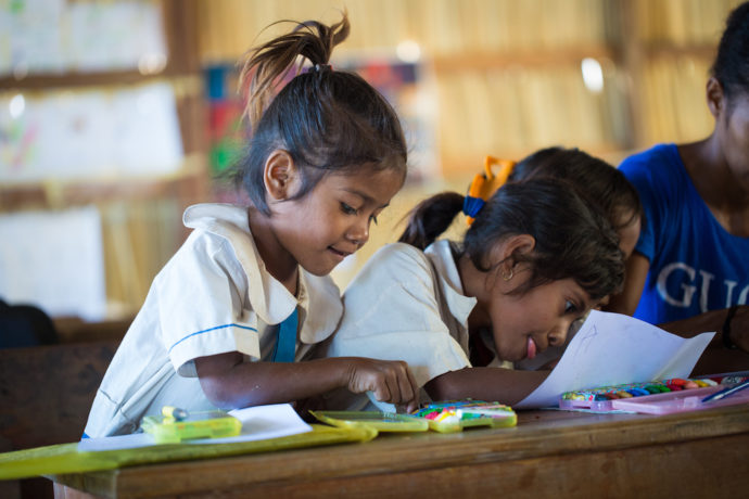 Leaving the Youngest Behind: Declining aid to early childhood education (April 2019)