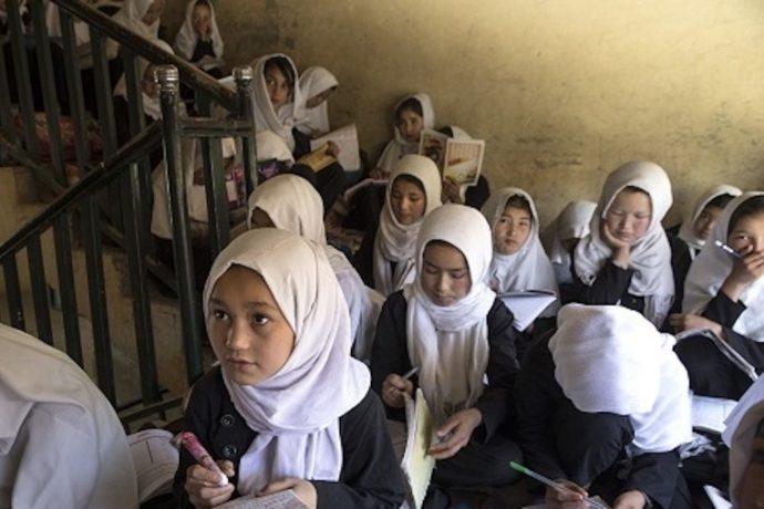 50 Afghan children injured as car bomb blast sends glass flying into schools